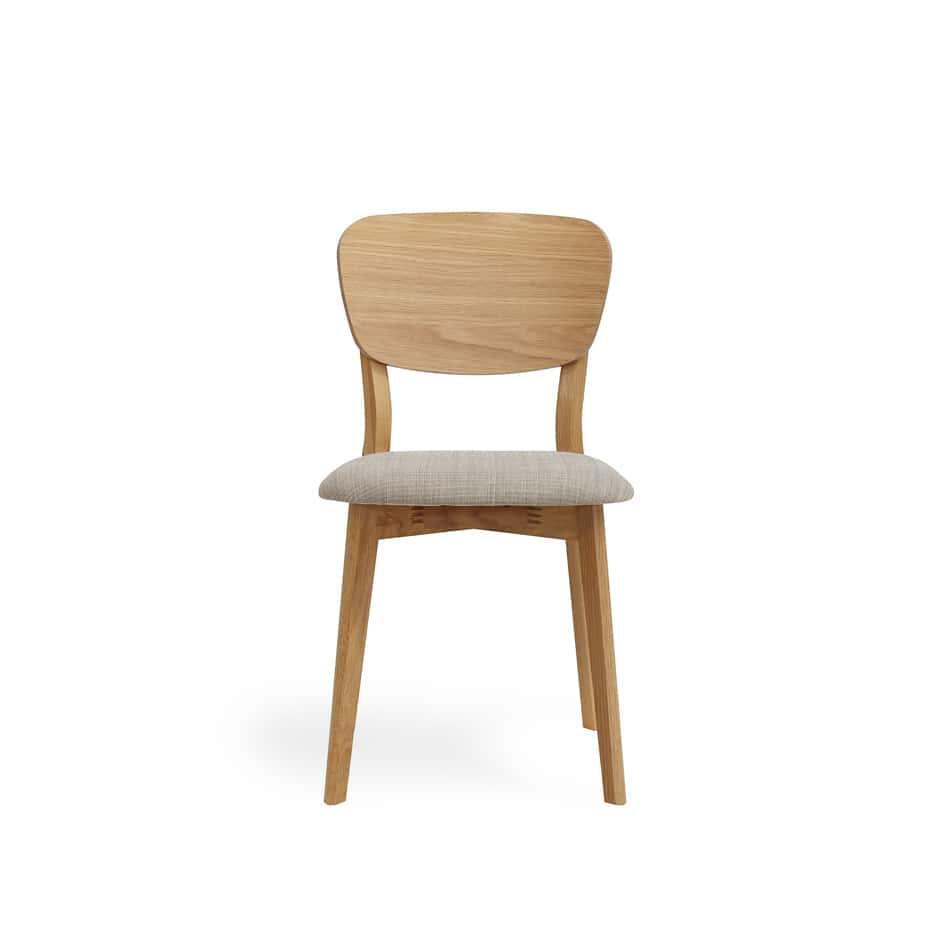 set of 2 linden timber back dining ch - Retro Chairs