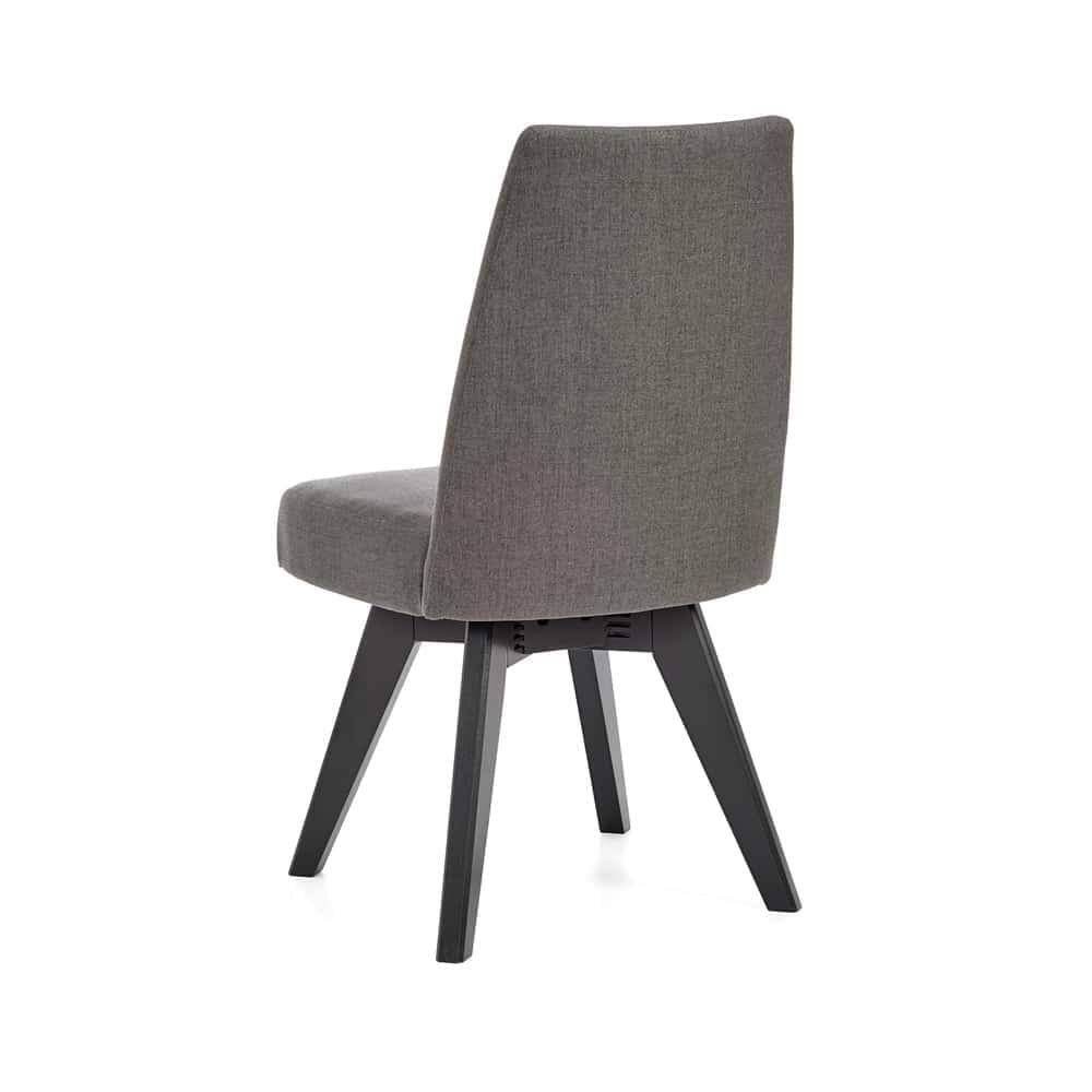 Set of 2 Arrow Swivel Dining Chair - Graphite