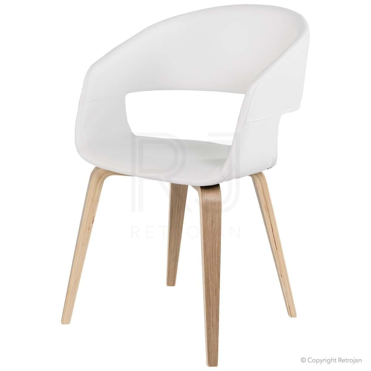 Buy karston scandinavian style dining chairs - Scandinavian chair ...