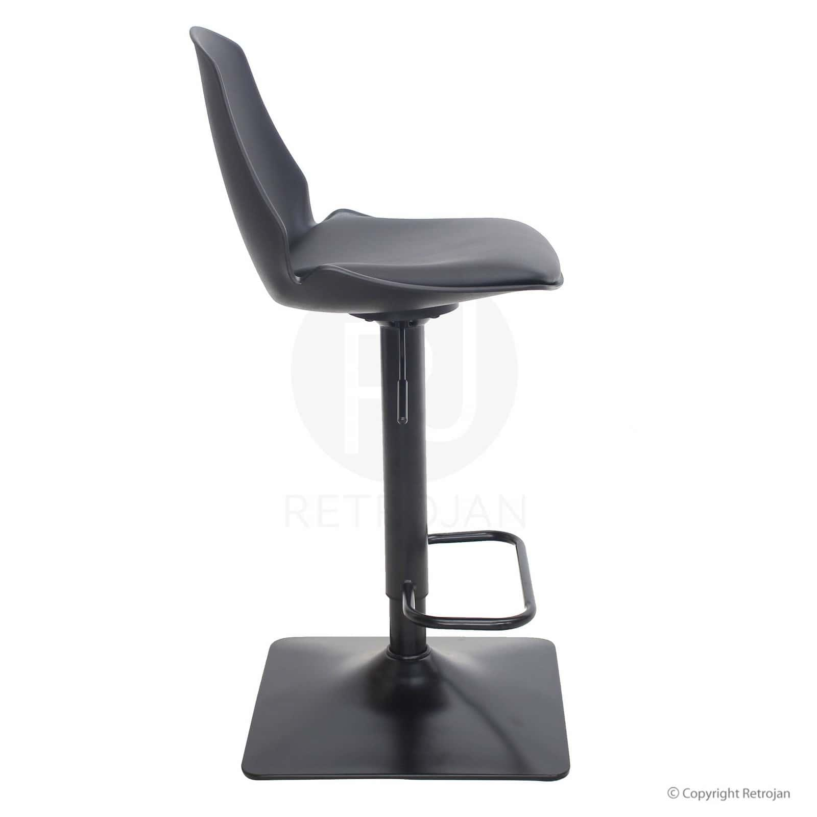 Tate Designer Bar Stool - Black