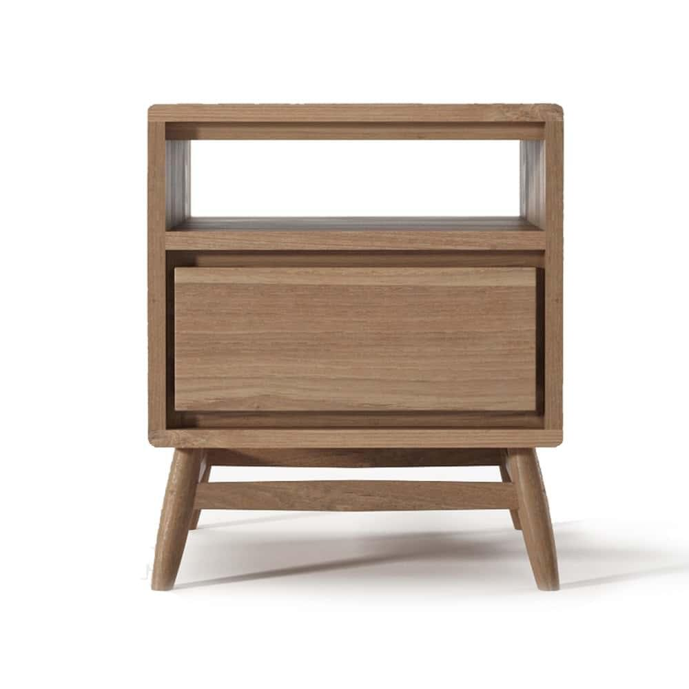 Twist Side Table - Teak