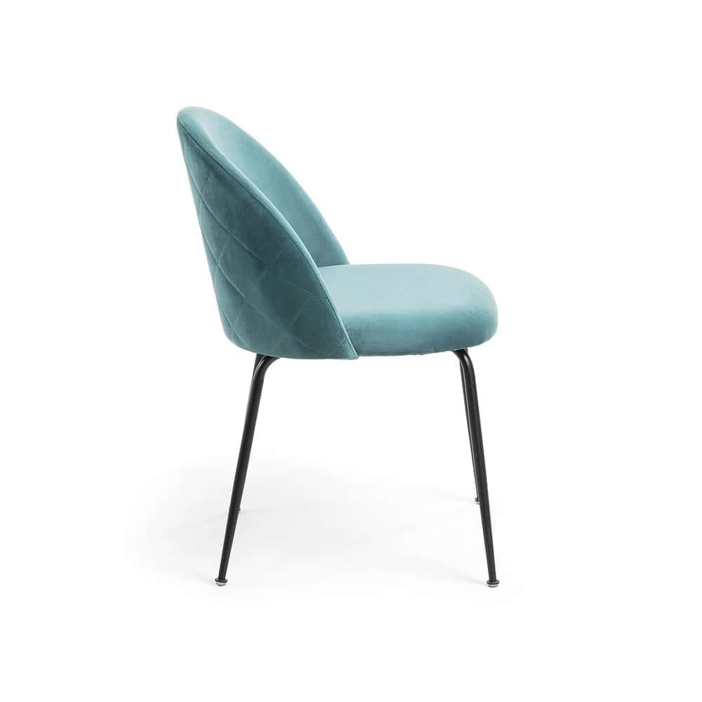 Placement Dining Chair - Teal / Black