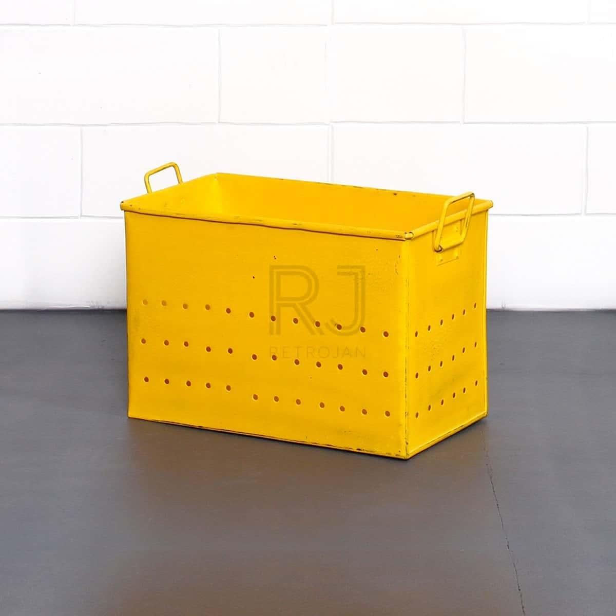 Elliot Storage Box - Yellow