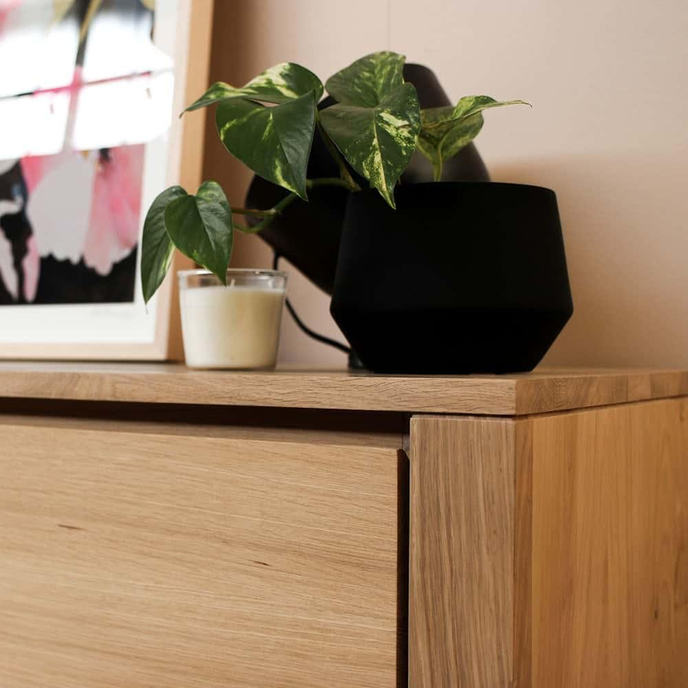 Ethnicraft Oak Shadow Sideboard - 4 Doors