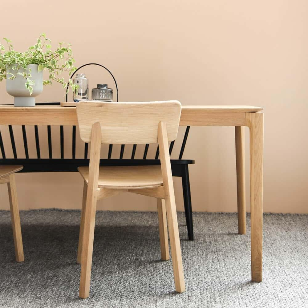 Ethnicraft Oak Bok Dining Table - 160cm