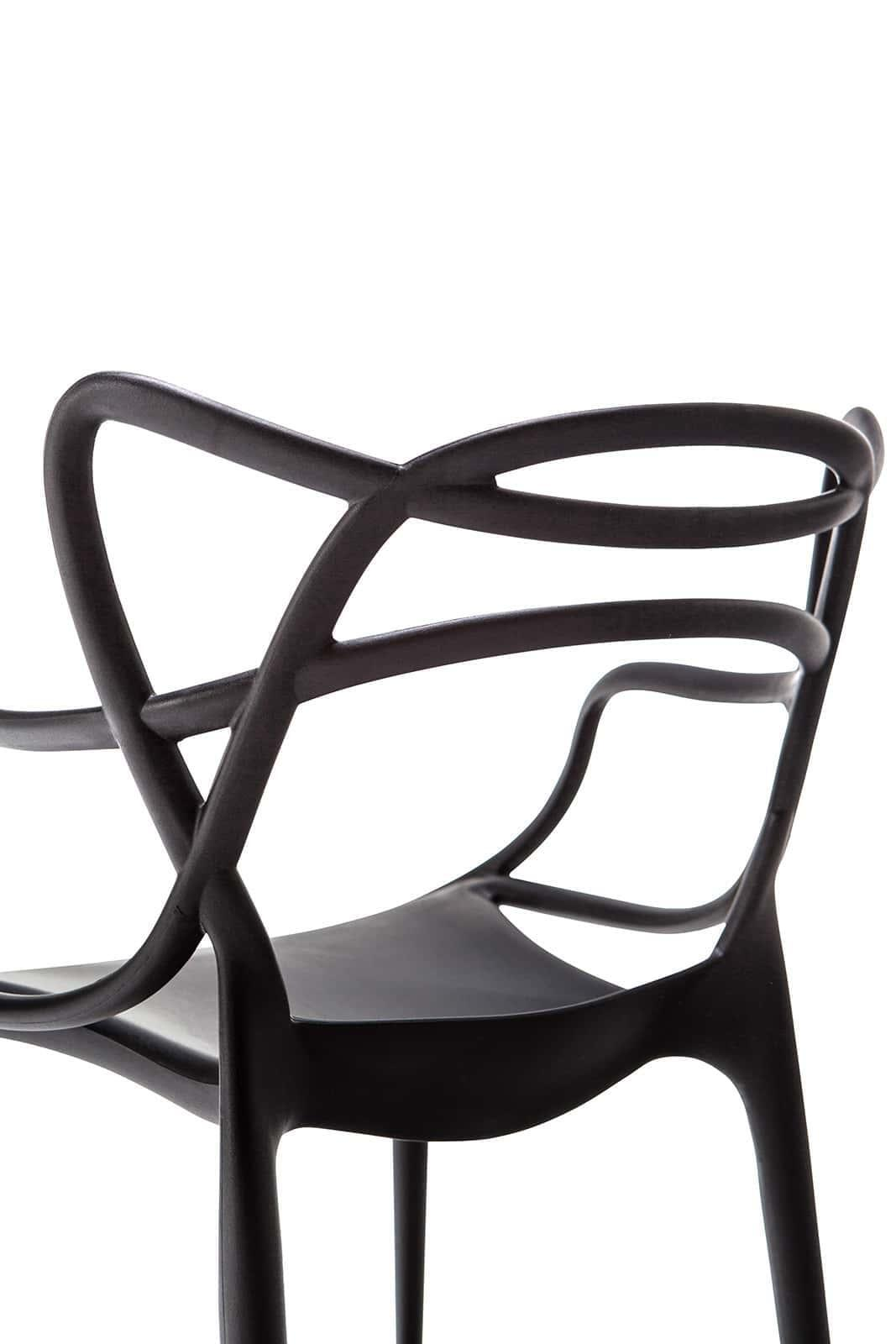 SET OF 2 Replica Philippe Starck Masters Chair - Black
