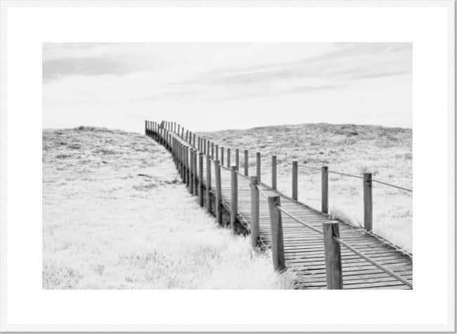 Solace Framed Print [Size: XLarge 930x1280mm] [Frame Colour: White]
