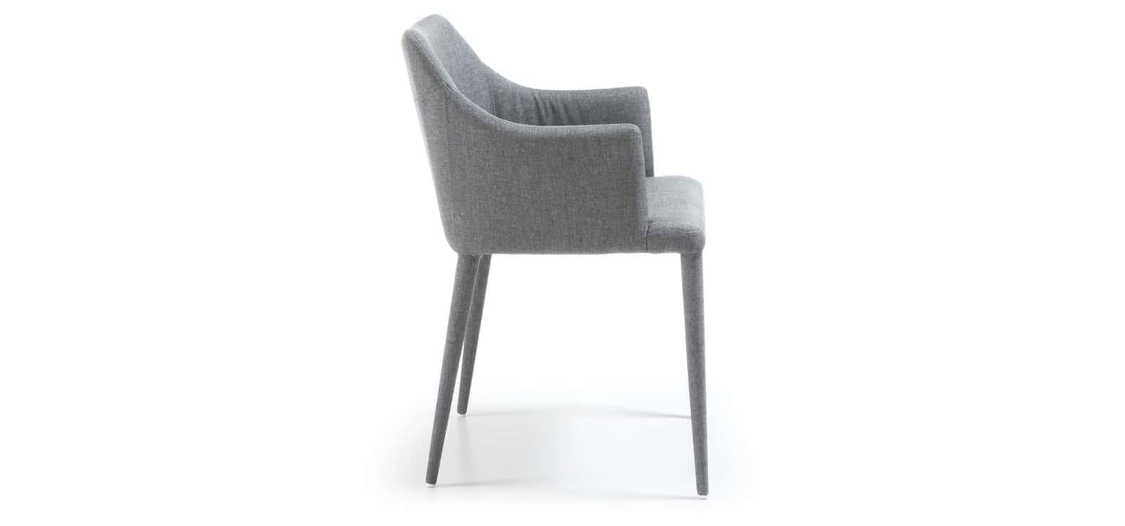 SET OF 2 Liana Chair - Light Grey