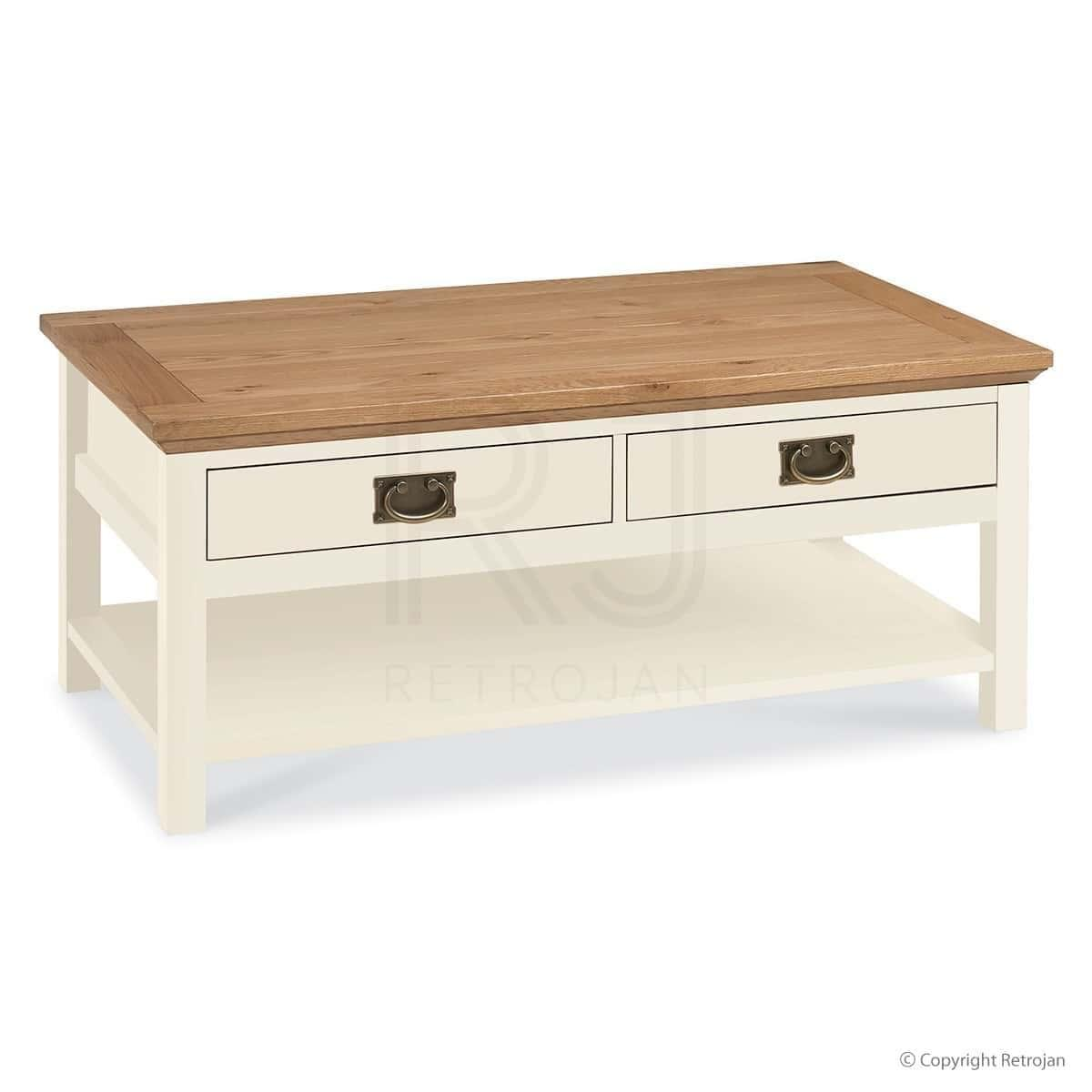 French Provincial 2 Tone Coffee Table