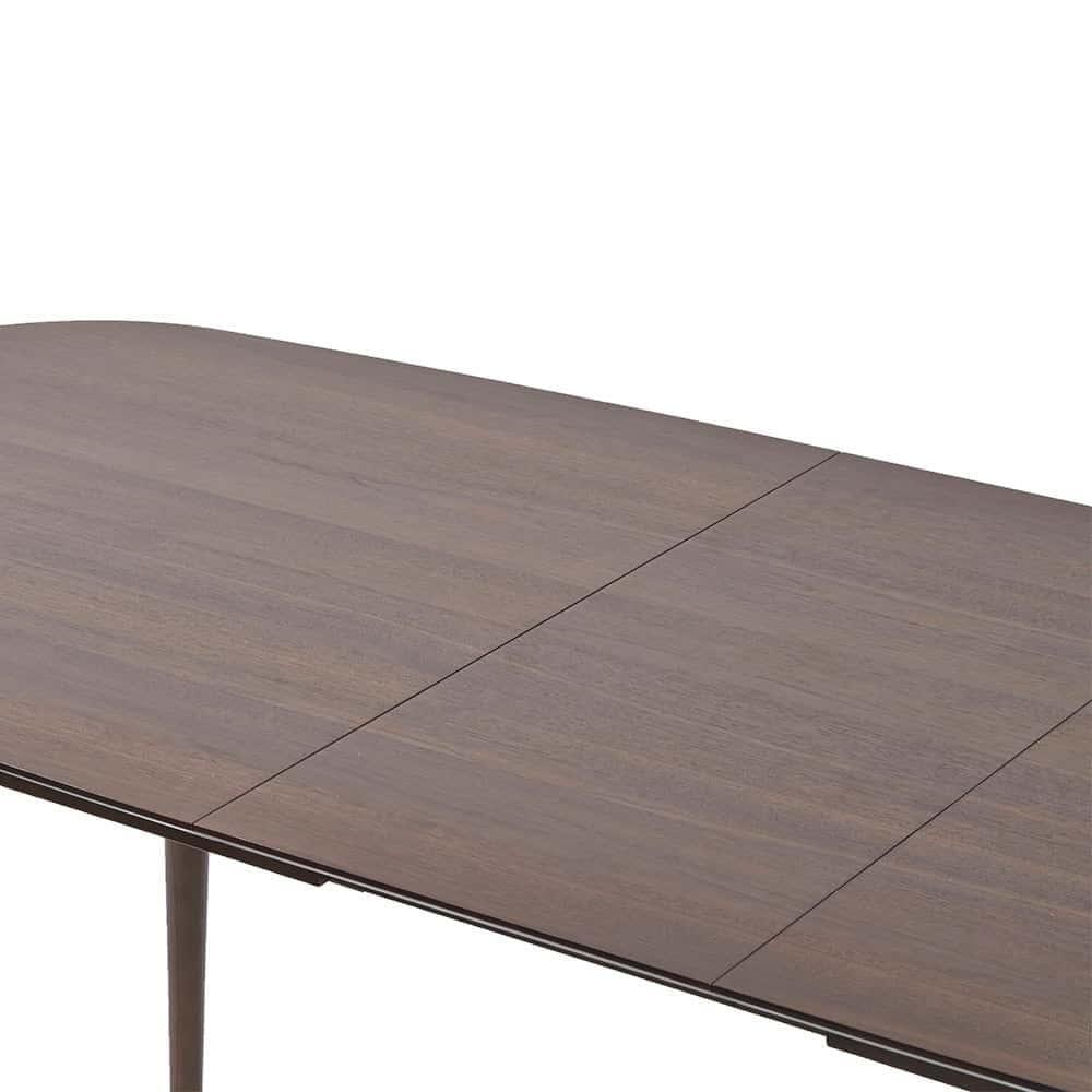 Vaasa Freidrich Modern Danish Style 6-8 Extension Dining Table - Walnut