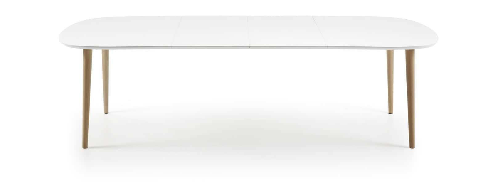 La Forma Oakland 160 Extending Dining Table - White
