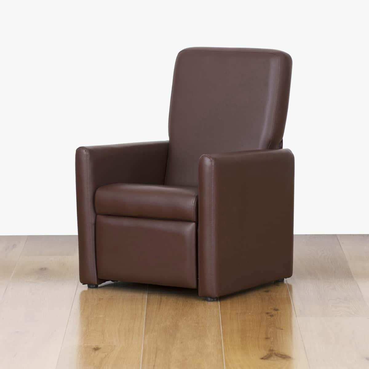 Watoto Kids Recliner Chair - Chocolate Brown