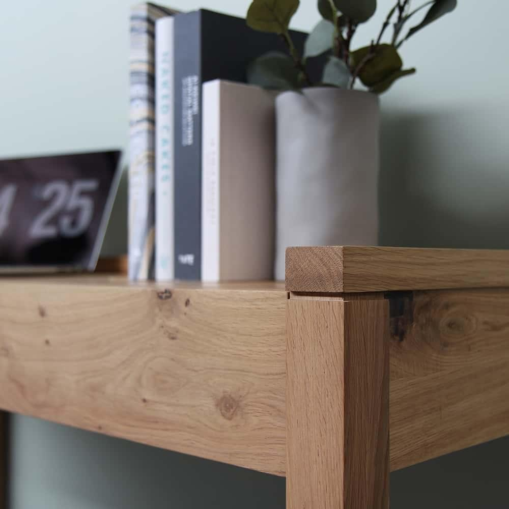 Oak Frame PC Console