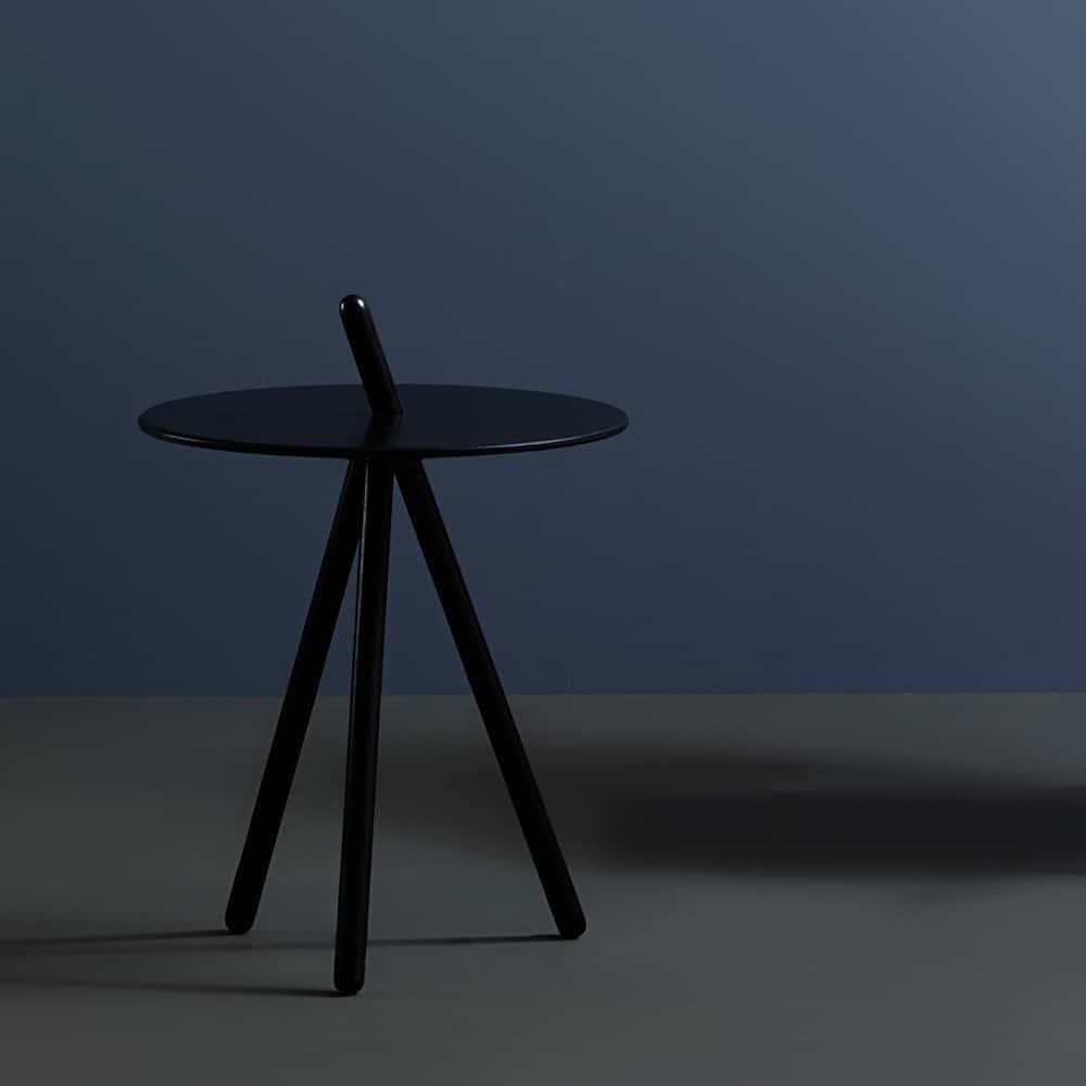 Come Here Side Table - Black