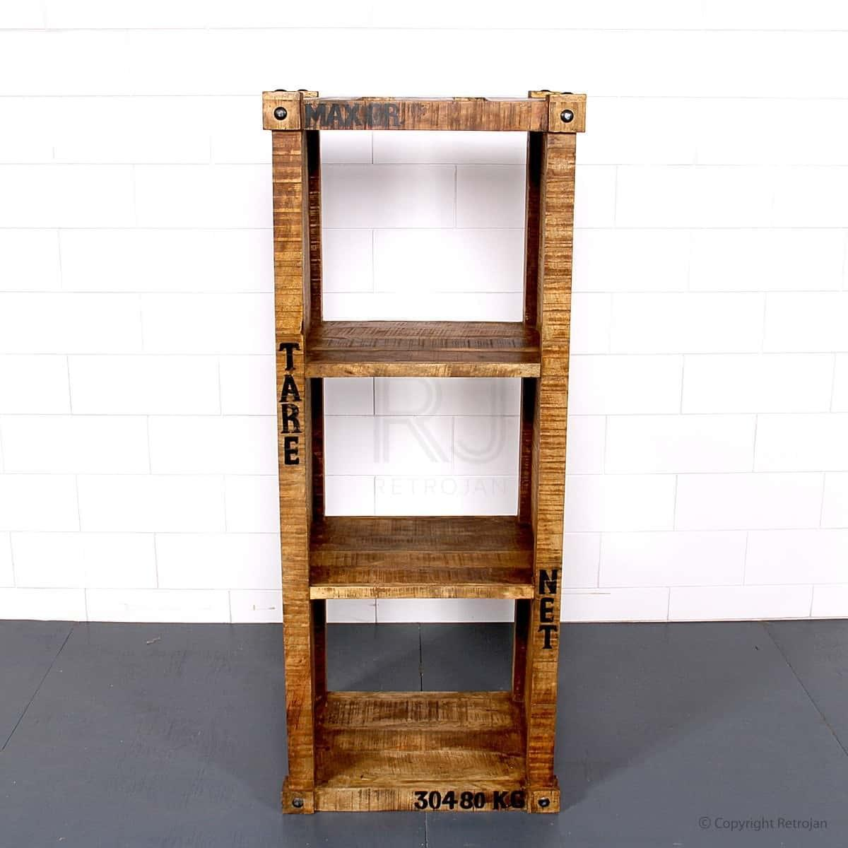 Bert Industrial Medium Bookshelf