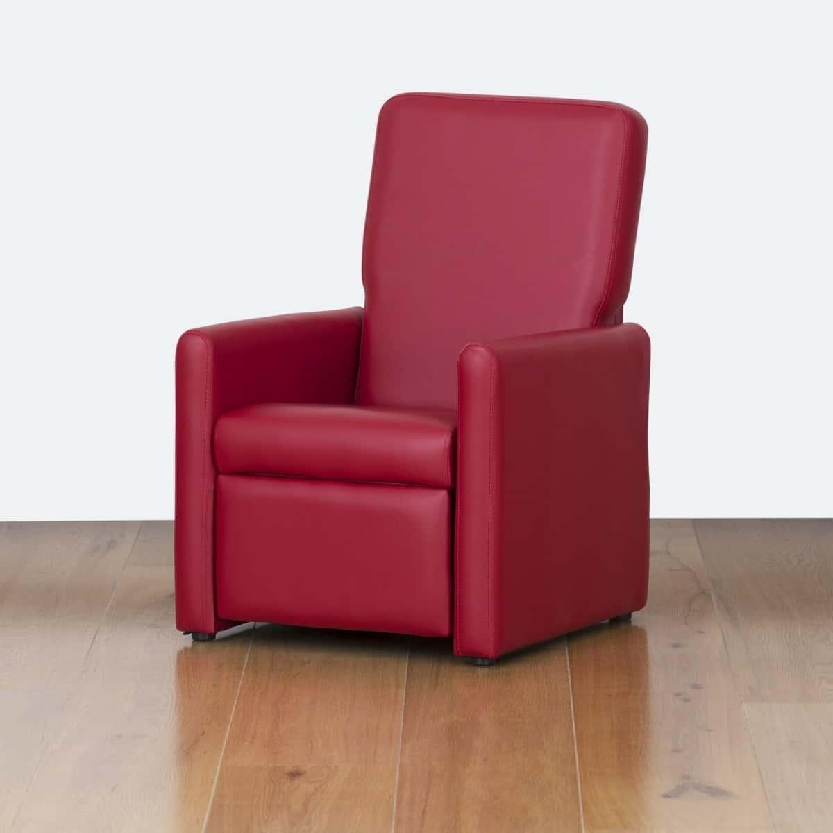 Watoto Kids Recliner Chair - Fire Engine Red