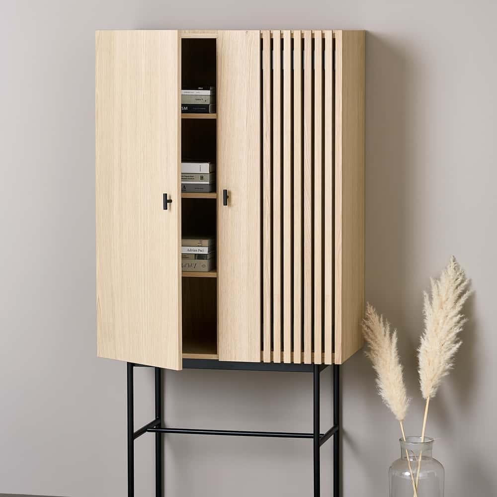 Array highboard, Oak 80cm
