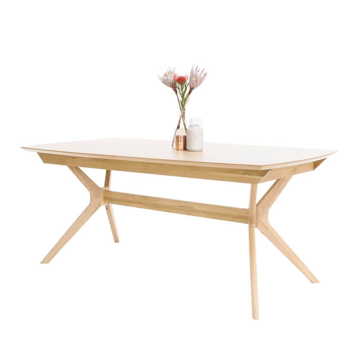 buy harper extension dining table oak online rj living rh rjliving com au