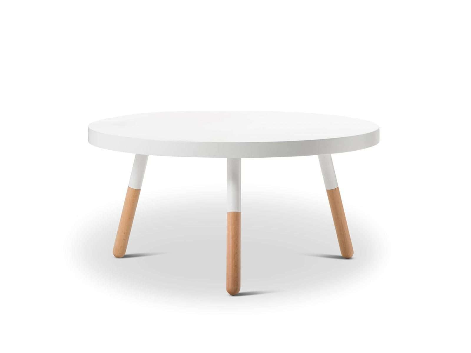 brysen scandinavian style coffee table white