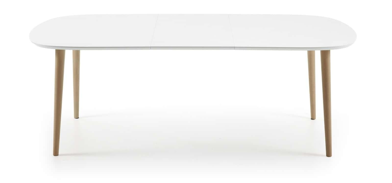 Buy isley 160 extending dining table white online retrojan - Dining tables buy online ...