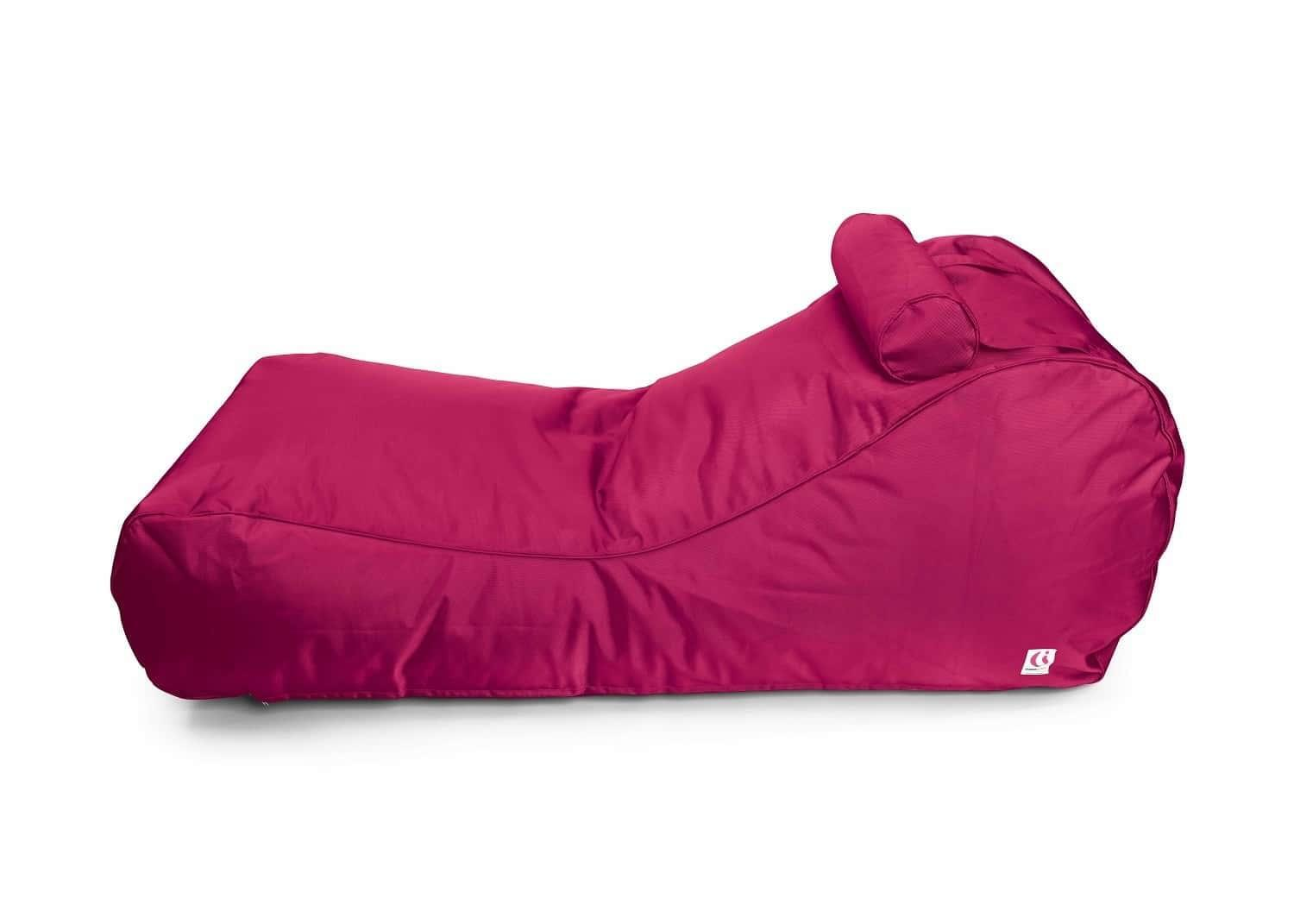 Indosoul Canggu Contour Lounger Outdoor Bean Bag Pink