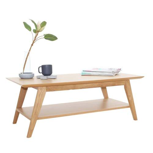 Nova Modern Designer Coffee Table - Oak