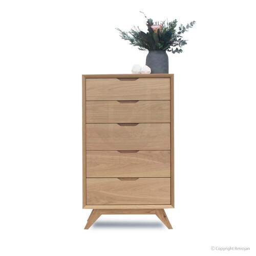 Harper 5 Drawer Chest - Oak