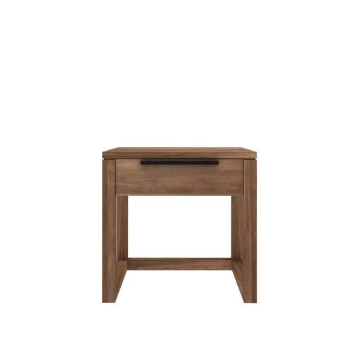 Ethnicraft Teak Light Frame Nightstand - 1 Drawer