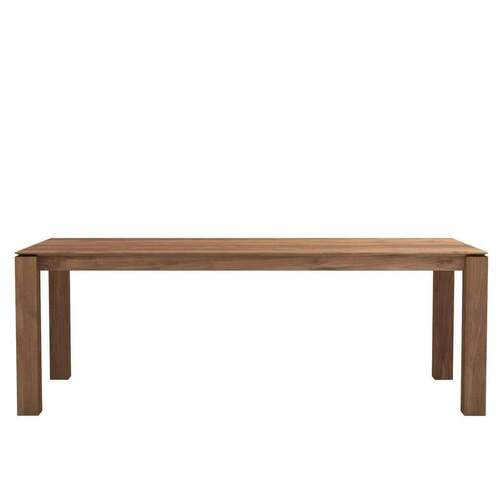 Ethnicraft Teak Slice Dining Table 220cm