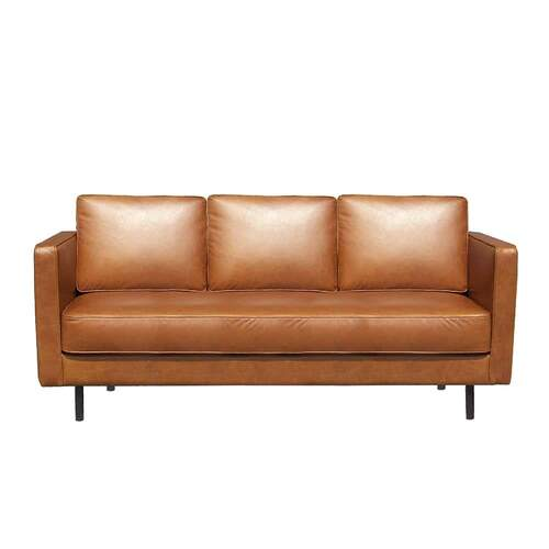 N501 3 Seater - Old Saddle Leather