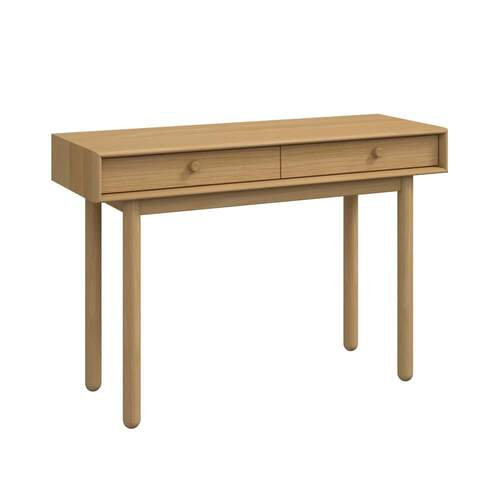 Akira Console Table with Drawers - Oak