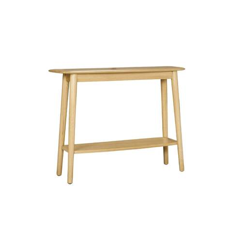 Akira Contemporary Console Table with Shelf