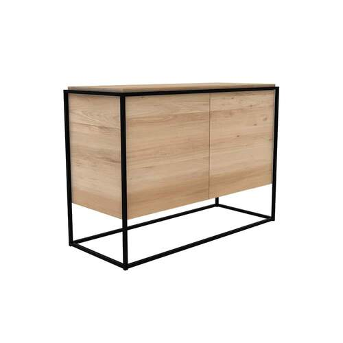 Oak Monolit Sideboard 2 Doors - Oak