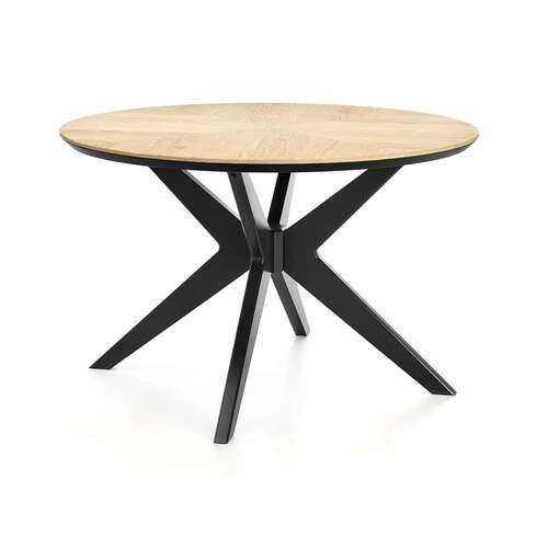 Maddox Contemporary Circle Dining Table