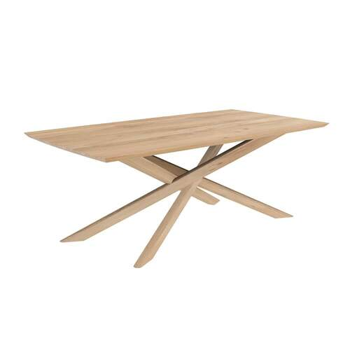 Oak Mikado Dining Table - 203cm