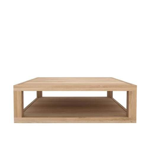 Ethnicraft Oak Duplex Coffee Table - 110cm