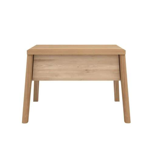 Oak Air Nightstand - 1 Drawer