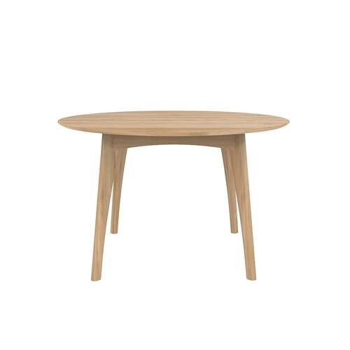 Ethnicraft Oak Osso Round Dining Table