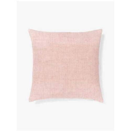 Aura Home Vintage Linen Cushion - Rose Dust