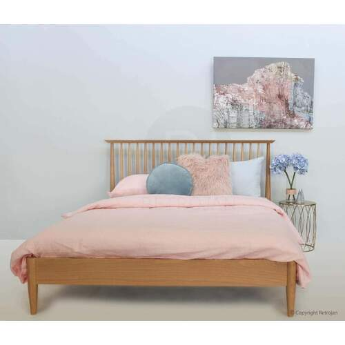 Clementine Danish Style Queen Bed