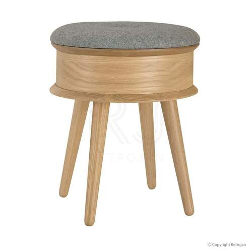 Mia Stool - Oak