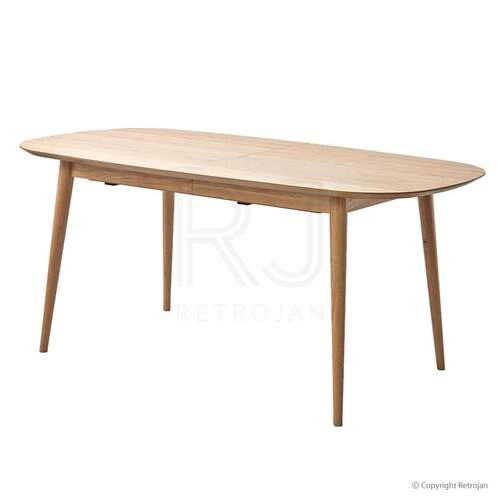 Mia Extension Dining Table - Oak
