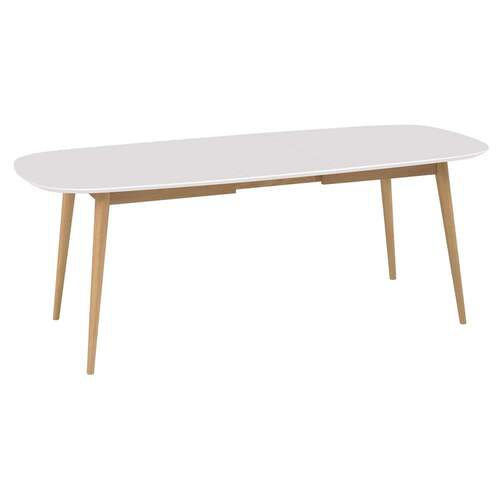Mia Dual Tone Extension Dining Table