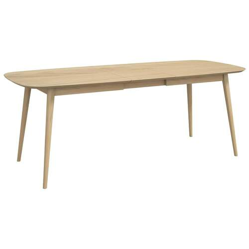 Sadie 6-8 Seater Extension Dining Table - Washed Oak