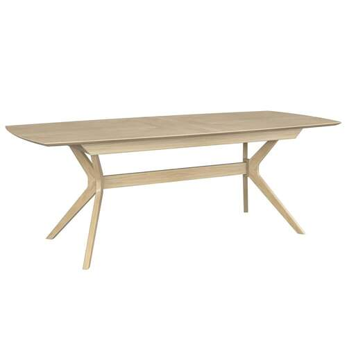 Harper 6-8 Seater Extension Dining Table - Washed Oak