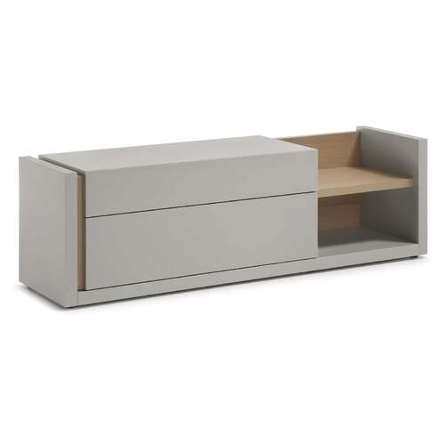 Everett Entertainment Unit - Grey