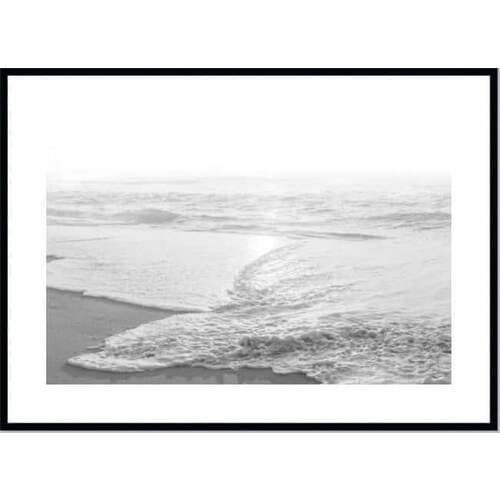 Beachcomber Framed Print