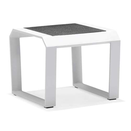 Nomad Side Table - White