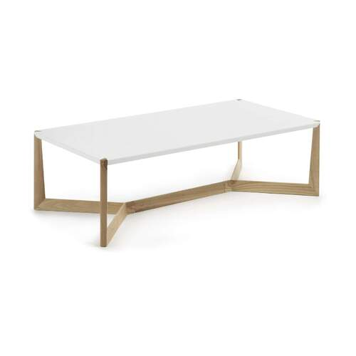 Duplex Coffee Table - Ash and White