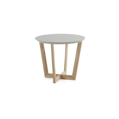 La Forma Rondo Side Table Ash and Light Grey